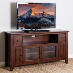 Tv wall unit modern entertainment center stand wall unit with led light . 65 Tv Stand, Cool Tv Stands, Entertainment Center Wall Unit, Entertainment Stand, 65 Inch Tvs, Living Room Wall Units, Tv Decor, Home Decor, All Modern