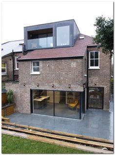 Cranley Gardens used minimal windows® in the loft for extra space and direct sunlight - amazing garden ideas Loft Dormer, Dormer Roof, Dormer Windows, Loft Conversion Bedroom, Dormer Loft Conversion, Loft Conversions, Loft Conversion Types, Loft Conversion Balcony, House Extension Design