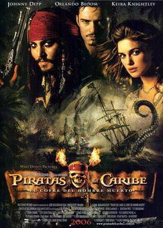 ver Piratas del caribe 2 cofre del Hombre Muerto 2006 online descargar HD gratis español latino subtitulada