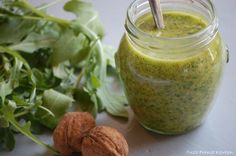 Onze Franse Keuken: Rucola-walnoten pesto : Zelf maken!