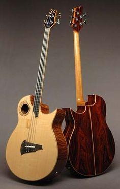 Doolin Guitars, Acoustic Bass Guitar musical-instruments