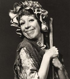 carol burnett. I cannot see her without thinking of how very much she made my Mom and Dad laugh... crying, tea-sputtering, wheezing laughter. Her show made them so very happy as it did millions!