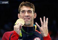 الأمريكيون يسيطرون على قائمة أكثر الحاصلين على ميداليات في ريو 2016