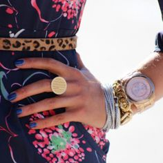 That monogrammed ring.