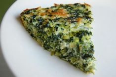 Crustless Spinach Quiche. Photo by run for your life. This was delicious!  Also added some chopped kale and added some ground cayenne pepper.  Can be made ahead of time and also cut up in small pieces for an appetizer.  A repeater recipe for sure!