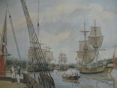 First Fleet the morning after its arrival at Sydney Cove 27 January Coral Castle, West Melbourne, First Fleet, Early Explorers, Botany Bay, James Cook, Sydney City, Coast Australia, Nautical Art