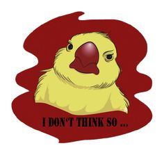 I don't think so . Logos, Handicraft, Tweety, Illustration, Drawings, Fictional Characters, Art, Craft, Sketches