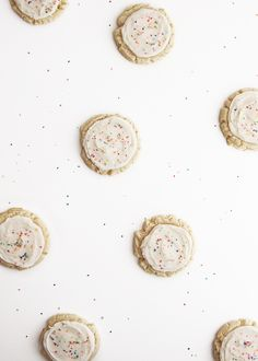Big Fat Sugar Cookies (Fauxmartha). Based on the famous Swig sugar cookie, the recipe is adapted from Vintage Revivals and That's Some Good Cookin'.  They sound amazing. Must try!