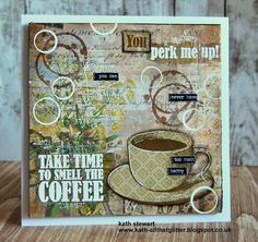 Kath's Blog......diary of the everyday life of a crafter: Simon Says Stamp Monday Challenge - Chill Out...