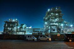 HDR Photo: Factory night view 'Kawasaki Night'