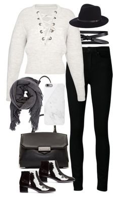"""Inspired outfit for autumn in the city"" by pagesbyhayley ❤ liked on Polyvore featuring Banana Republic, Paige Denim, Isabel Marant, rag & bone, Alexander Wang, Native Union and H&M"