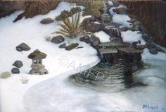 Winter Pond Paradise