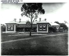 Tamworth Hospital,in northern New South Wales (year unknown). •State Records of NSW•