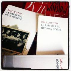 Editorial PLANETA me envió los nuevos volúmenes de la Biblioteca de Paul Auster; nuevas ediciones a muy buen precio, en el sello booket… También enviaron SALVAJES de Don Winslow, libro en el que se basa la película que ahorita esta en cartelera y que voy a regalar. Este jueves te digo cómo.