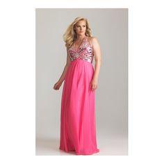 Timeless Cheap Sleeveless Empire Zipper Chiffon Prom Dresses - by... (995 HKD) via Polyvore