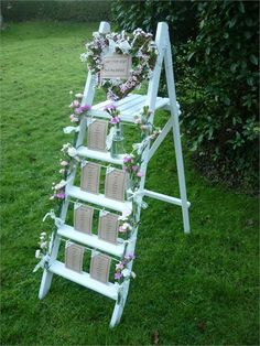 For wedding decoration hire, wedding invites, wedding stationery, wedding favours, wedding cakes and even vintage china come to the Wedding Parlour. Marquee Decoration, Ball Decorations, Wedding Decorations, Wedding Table Assignments, Seating Plan Wedding, Seating Plans, Ladder Table Plan, Table Plans, Marquee Wedding
