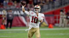 Third comes first: Jimmy Garoppolo delivering for on money down - San Nfl Divisions, Nfl Coaches, Patrick Willis, Nfl San Francisco, Football Conference, Peyton Manning, National Football League, Kansas City Chiefs