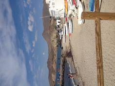 La isleta del Moro, cabo de gata, Almeria Spain