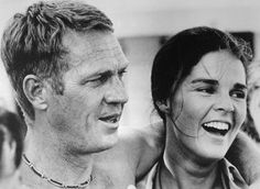 Steve McQueen and Ali MacGraw in The Getaway, 1972