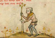 Kalender und Praktika auf die Jahre 1368 14. Jh. Cgm 32 Folio 7r
