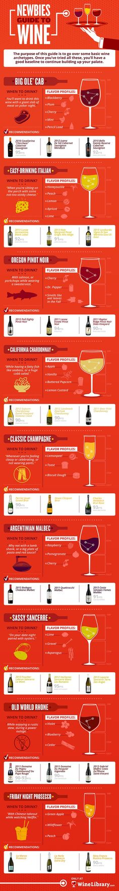 So you've made the plunge and decided to finally get into wine. Congratulations! Every single one of these delicious, affordable wines are available on Wine Library. Just click this pin to learn more #ad