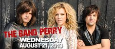 The Band Perry put on another fantastic show :)