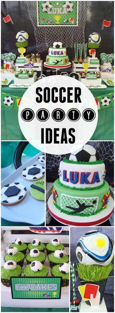 Football Birthday Soccer Party