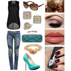 """First Date appropriate..."" by threadinducedeuphoria on Polyvore"