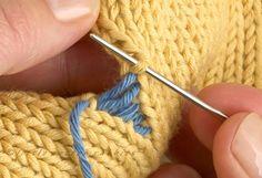 Little Cotton Rabbits: A mattress stitch tutorial Baby Knitting Patterns, Baby Hats Knitting, Knitting Stitches, Sewing Patterns Free, Hand Knitting, Knitting Help, Little Cotton Rabbits, Granny Square Crochet Pattern, Hat Tutorial