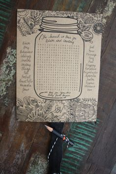 Wedding Program Word search wedding programs by Southern Bella Vita Design Studio - Wedding programs make the ceremony extra special for guests, giving them a glimpse into the wedding ceremony before it begins. We've rounded up ten . Wedding Program Fans, Wedding Fans, Ceremony Programs, Our Wedding, Dream Wedding, Wedding Things, Wedding Ceremony, Wedding Stuff, Cute Wedding Ideas