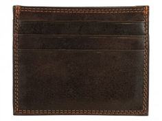 Carrying money in a stylish leather card holder is the current trend and if you don't miss out the opportunity to be a part of it then buy this amazing Toro Slim Brown leather card holder. #cardholder #leathercardholder #menfashion #menaccessories