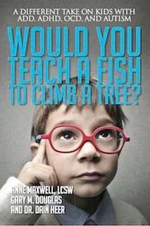 """Anne Maxwell the author of the book, """"Would you Teach a Fish to Climb a Tree? A Different Take on Kids with ADD, ADHD, OCD, and Autism joins eHealth Radio and the Autistic Syndrome Information Channel. Autistic Children, Adhd Kids, Hans Christian, Pdf Book, Working With Children, Children And Family, Ocd And Autism, Jean Paul Dubois, Access Consciousness"""