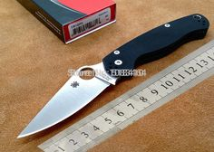 Best value Spyderco Knives – Great deals on Spyderco Knives from global Spyderco Knives sellers on AliExpress Camping And Hiking, Outdoor Camping, Camping Knife, Spyderco Knives, Pocket Knives, Home Improvement, Home And Garden, Blade, Hiking Shorts
