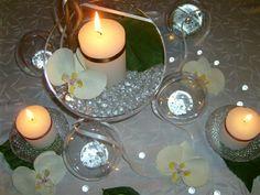 Dressage de table : déco de table orchidée