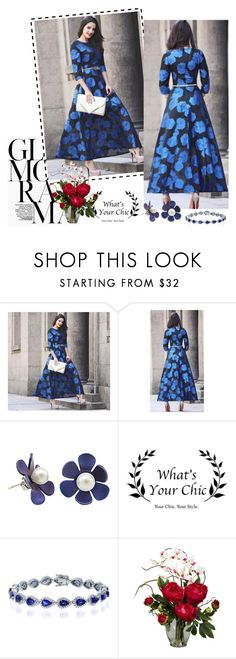 """""""Whatsyourchic  34"""" by followme734 ❤ liked on Polyvore featuring Nearly Natural and WhatsYourchic"""