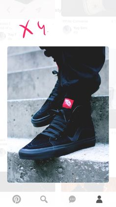 ae24b77b1f Streetwear Daily Urbanwear Outfits Tag to be featured DM for promotional  requests Tags  · Vans High Tops MensBlack High ...