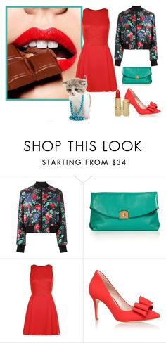 """""""Untitled #417"""" by grateful-angel ❤ liked on Polyvore featuring MSGM, Sergio Rossi, New Look, KG Kurt Geiger and Revlon"""