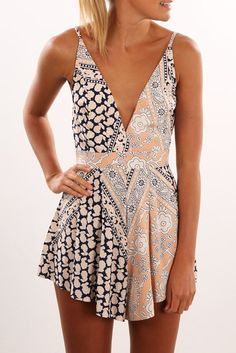 Lucy Lou Playsuit #iheartDSP #Romper #SummerStyle