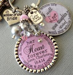 Mother of the Bride gift / Mother of the Groom gift by buttonit