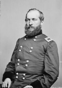 Presidents in uniform: James A Garfield, Major General of the Army of the Ohio (Union affiliated) during the Civil War