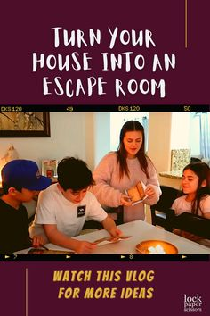 WE are back with turning our house into fun family games for all of you. This time we turned our house into an escape room. We had an amazing Escape Room Kit sent to us by Lock Paper Scissors and the kids absolutely loved it. Family Escape Rooms are so much fun and it is so good to see the kids work together to try and escape the room for the grand prize. Comment down below with any more Turned Our House Into ideas for us to do. Party Activities, Classroom Activities, Party Games, Escape Room For Kids, Escape Room Puzzles, Kids Work, Printable Party, Working With Children, Family Games
