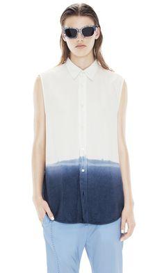 Pina Dip Dye Navy. Want this shirt!
