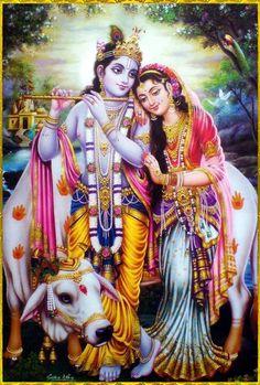 By beholding the deity forms of Sri Sri Radha Krsna I feel the greatest joy. --------Thakur Bhaktivinode.