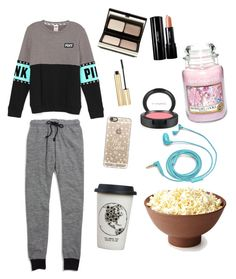 """""""Snowed In"""" by renee-woolf ❤ liked on Polyvore featuring Madewell, Casetify, Yankee Candle, Natural Life, FOSSIL, Kevyn Aucoin, Shiseido, MAC Cosmetics, Dolce&Gabbana and women's clothing"""