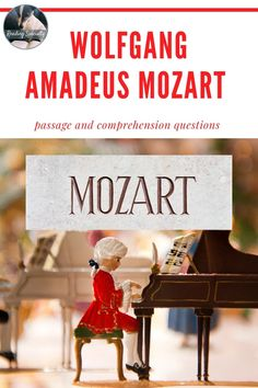 January 27, 1756, Wolfgang Amadeus Mozart was born.. Students read a biographical sketch of Mozart. The questions in standardized test format check comprehension and help students prepare for high-stakes testing.