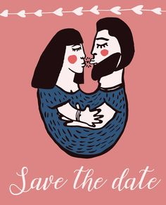 Pauline Illustrations: Save the date