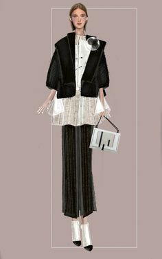 """Mei 2"" Sketch   Stefania Belmonte   my collection   Fashion Illustration"