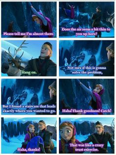 Frozen / Kristoff and Anna