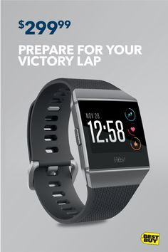 Get the new Fitbit Ionic Smartwatch for only $299.99. Leave goals in the dust with the latest smartwatch to join the Fitbit family. Store and play your favorite songs, stay connected to apps and calls and always keep your heart rate in check. Hit the road, workout warrior.