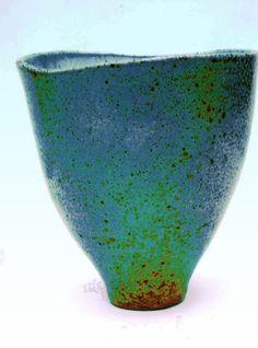 M.Wein Barium stoneware Glaze Large bowl